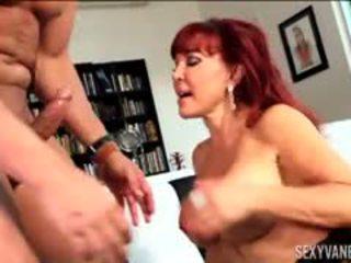 büyük göğüsler tam, oral seks, redhead izlemek