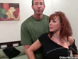 gyzykly cougar fun, real old, most gilf ideal