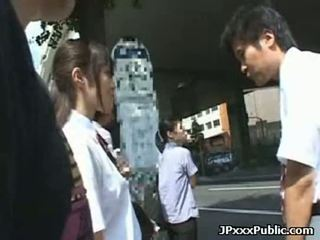 Public Sex Japan - Sexy japanese teens fuck in public places 34