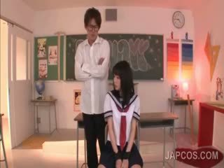 Delicate Asian School Doll Fucked By Her Teacher In Class