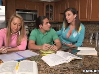group, threesome, mature