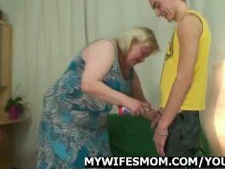 Feleség comes -ban amikor neki anya rides én fasz