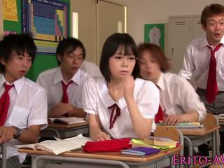 japonés, adolescentes, estrellas porno