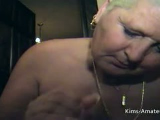 Fat Granny At An Amateur Swinger Home Party