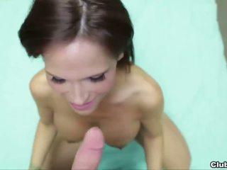 Sexy mature lady POV jerking