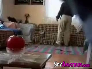 Arabic girl fucked hard by neighbor