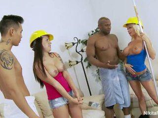 Nikita Von James Group Sex Fun