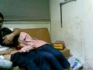 韩国 女孩 他妈的 在 宿舍 后 学校