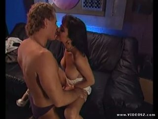 Hot babe Asia Carrera blows a long hard cock