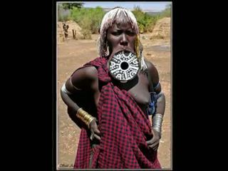 Nigerian natural áfrica prawan