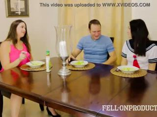 [Taboo Passions] Sister fucks brother while mom watches Addie Juniper & Madisin