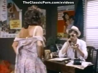 John Holmes, Candy Samples, Uschi Digard in vintage porn movie