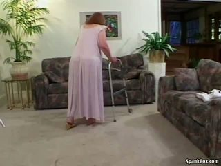 Granny Loses Her Teeth While Sucking, Porn 31