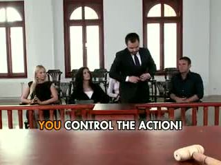 Lawyer leanna söta gives allt till win den fall.