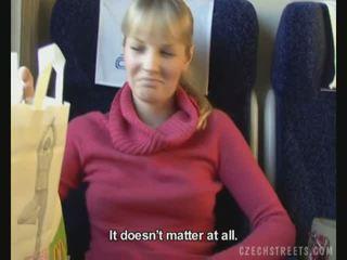 Offentlig fan på tåg