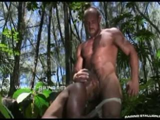 Immense strong gay guy brutal sex