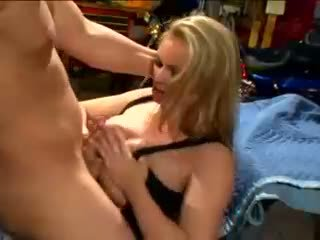 Briana banks and angie savage get slot stretched by two ramming jago rods