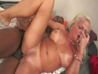 Euro Granny Fucked by African Immigrant, Porn b8