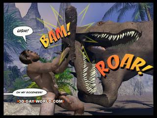 Cretaceous kutas 3d gej komik sci-fi seks historia