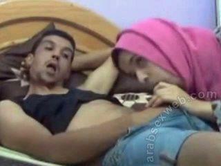 아라비아의 bj 에 hijab 에 webcam-asw1077