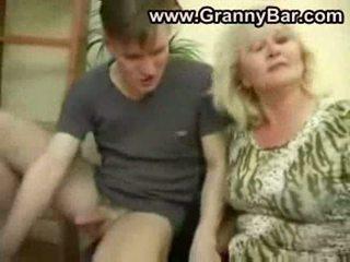 pussyfucking, bestemor, blowjob
