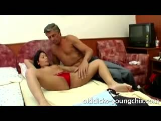 Old Horny Guy Fucks Asian Teen Hottie