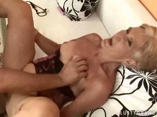 sexe hardcore, oral, sucer, vieux