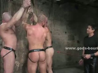 Nasty gay master enjoys wild sex