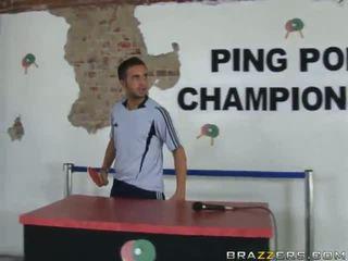 Ping Pong Shagging Close To Blonde Slut Gina Lynn
