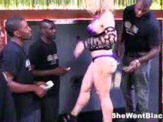 Busty Sarah Vandella Interracial Gangbang