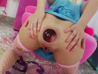 hot gaping, fun anal masturbation all, ideal ass toy