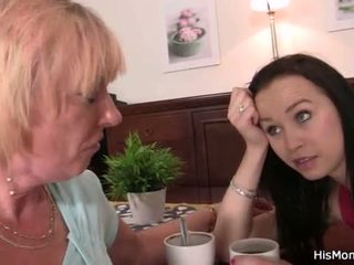 """Old lesbian mom toying her young pussy <span class=""""duration"""">- 6 min</span>"""