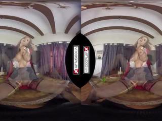 Vr πορνό γαμήσι hermione σκηνή με stella cox vr cosplayx