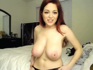 Adorable cam girl with nice boobs