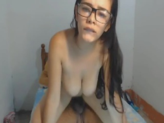 Nerdy Babe Fucked Hard by Big Stiff Cock, Porn d9