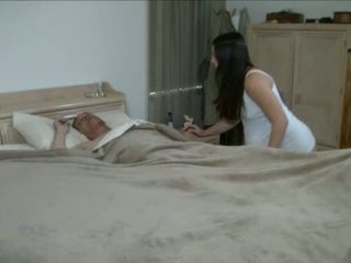 hot young quality, watch girl all, dad new