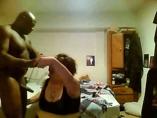 Fucked This Chubby White Woman Hard In Missionary Position