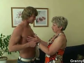 Old Women Pleases Hot Younger Stud, Free Porn e1