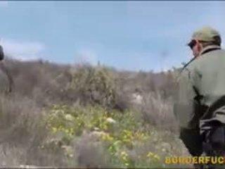 Tight Latina Kimberly Gates Gets Nailed By Patrol Agent