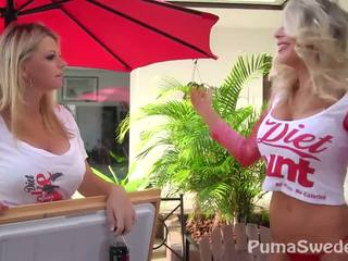Diet pina! puma swede & vicky vette!