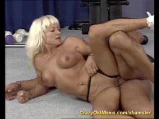 성숙, 섹스하고 싶은 중년 여성, hd 포르노, 선생