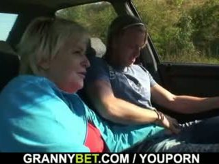 On picks up in bangs 80 years old babi izven