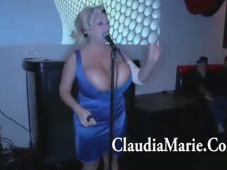 Huge susu claudia marie singing and then fucked by bbc