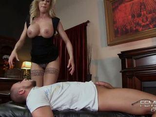 Brandi liebe femdom handjob - porno video 091