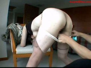 Milf with glasses getting her tits rubbed pussy fingered sti