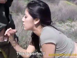 Latina kimberly gates banged von border patrol offizier