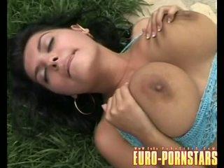saya pussy licking, pinakamabuti lesbian Libre, sa turing outdoor makita
