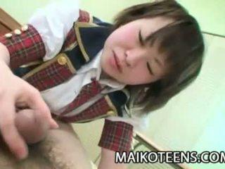 coed, tineri, japonez, adolescent