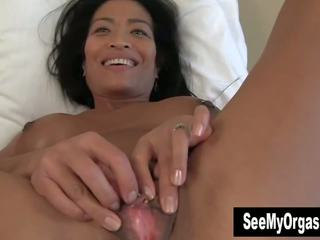 Exotic Tia Vibrating Her Cooter, Free HD Porn fe