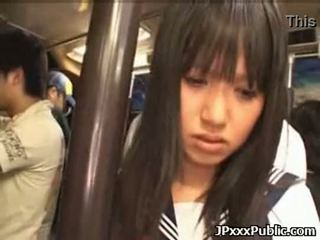 Sexy japanese teens fuck in public places 35